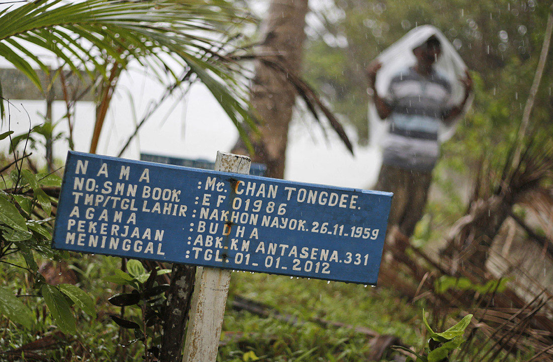 GRAVEYARD A Jungle Graveyard Entombs Dozens Of Fishermen Buried Under Fake Names Leaving