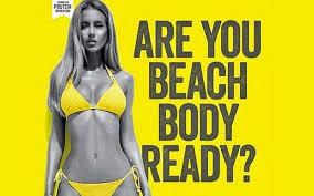 ''Are you beach body ready?' Protein World (2015)