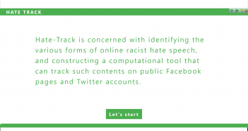 HateTrack screenshot