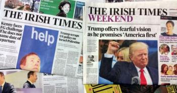 Frank Miller, The Irish Times
