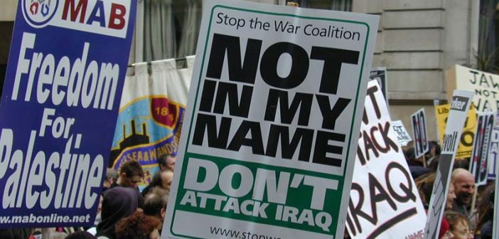 Not-in-my-name_banner,_Stop_The_War_demo