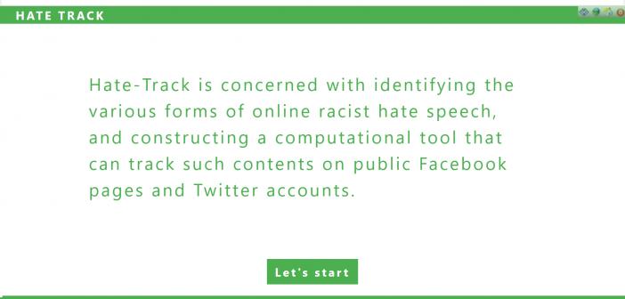 HateTrack screenshot
